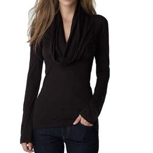 Tops - Cowl Neck Long Sleeve